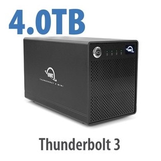 OWC ThunderBay 4 mini TB3 SoftRAID Lite XT 4TB HDD